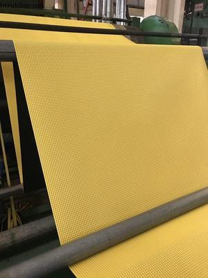 pyramid top pattern rubber flooring